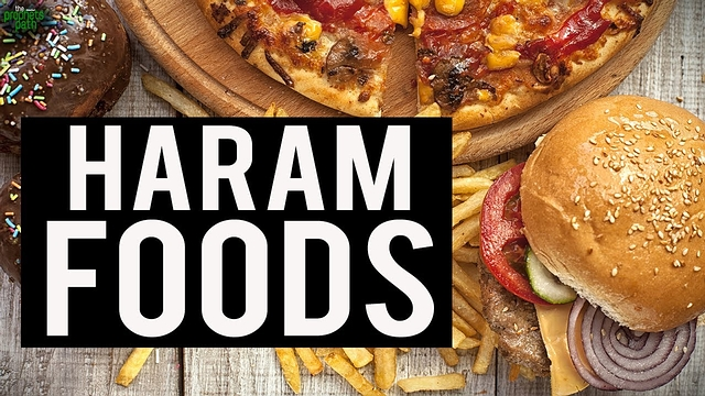 Forbidden foods (Haram)